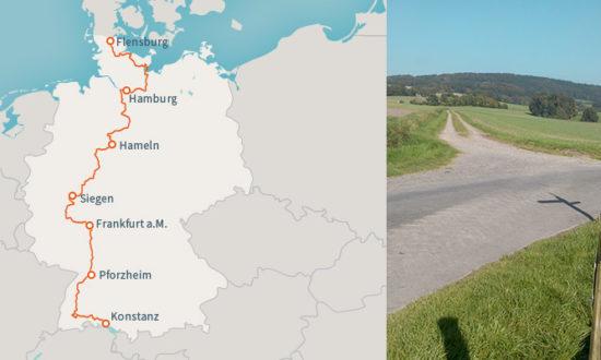 Wanderweg E1-Deutschland