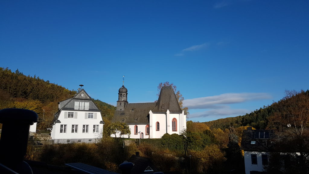 Panorama Kirche Oberauroff