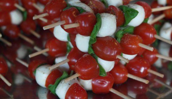 Vorspeisen Büffet Tomate-Mozzarella