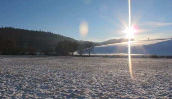 Winterimpressionen aus Oberauroff