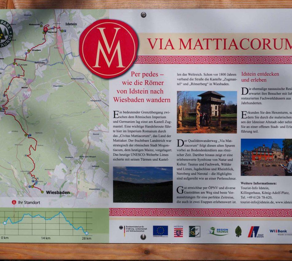 Wanderwed Via Mattiacorum