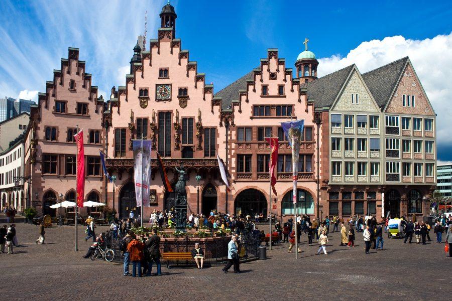 Frankfurt Römer Pixabay User domeckopol-610494